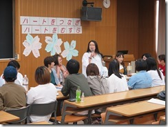 昨年度退職された小坂先生も来てくれました。